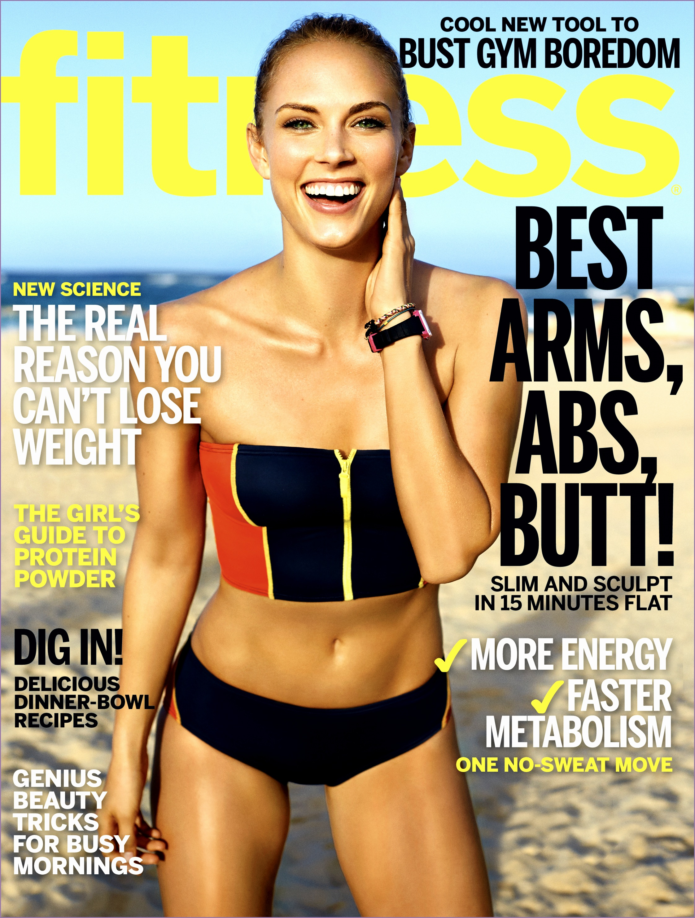March 2015 FITNESS Cover