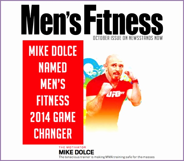 mike dolce named mens fitness magazine 2014 game changer