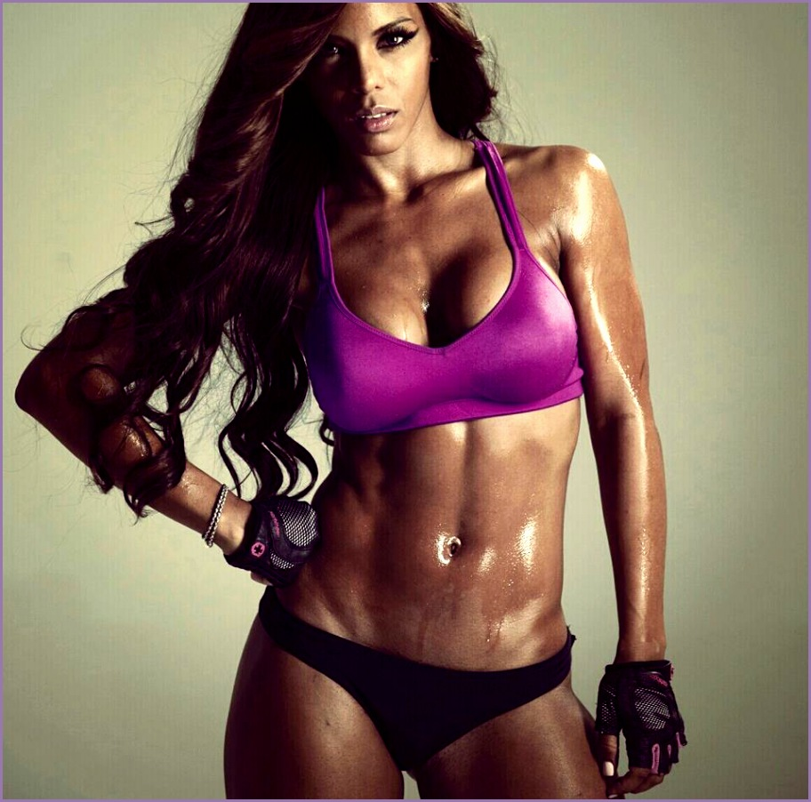 female fitness model yes the camera loves you