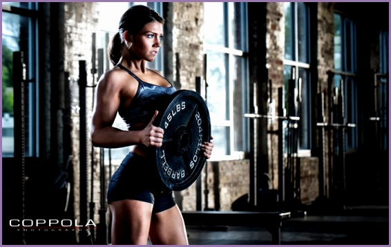 workout pose fitness female crossfit
