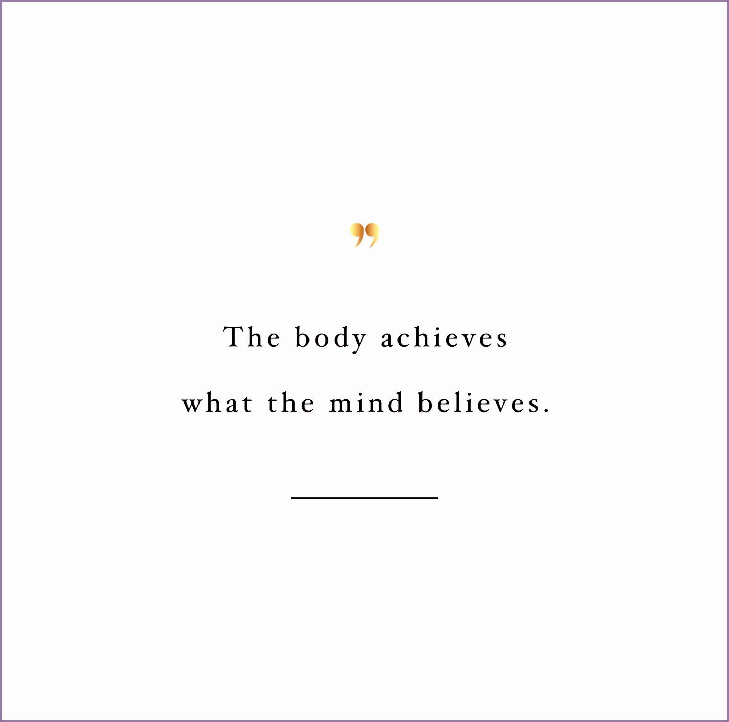 focus inspirational fitness quote