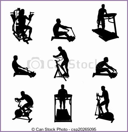 vario ejercicio máquinas hombre