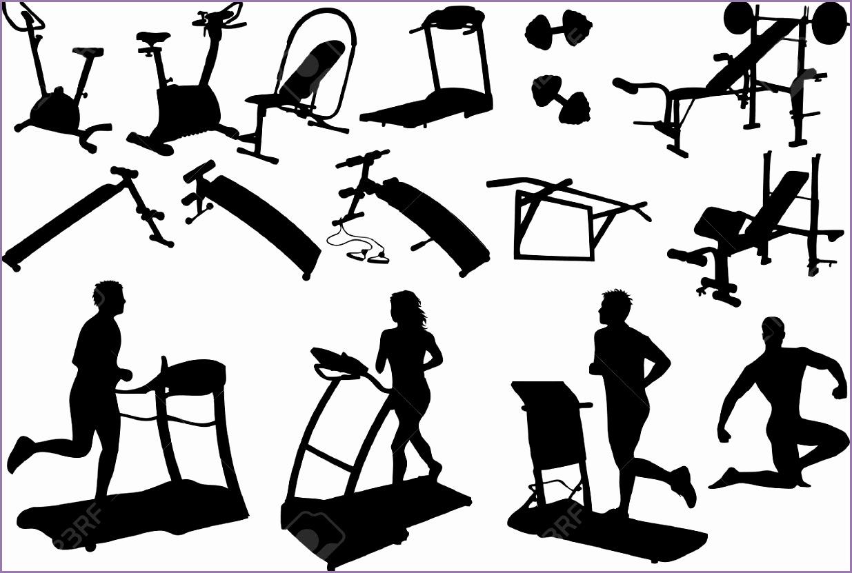 fitness center clipart