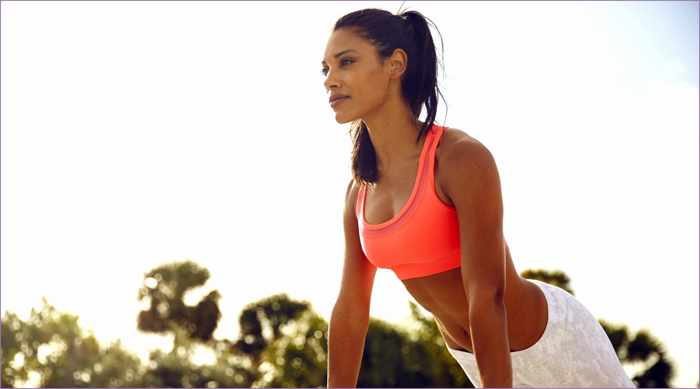 fitness workout girl 4k 3820