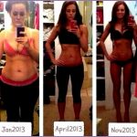 5  Fitspo Tumblr before and after