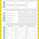 5  Food and Fitness Journal Printable