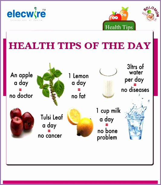 today health tips