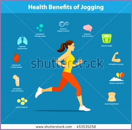 woman running vector illustration benefits jogging