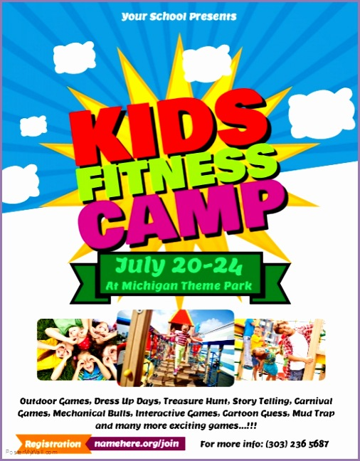 kids fitness camp poster template e19ef5bcae6bdd478f77a2f ced screen ts=