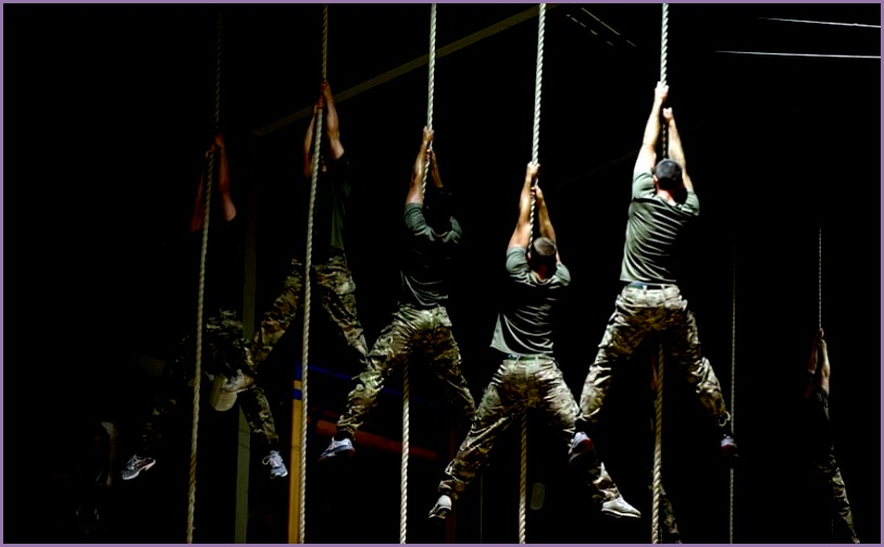 Royal Marines Training Camp frame=