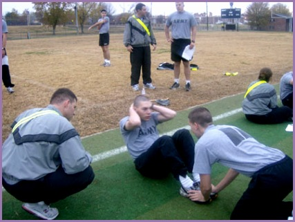 new army physical fitness test 13