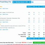 8 My Fitness Pal Diary