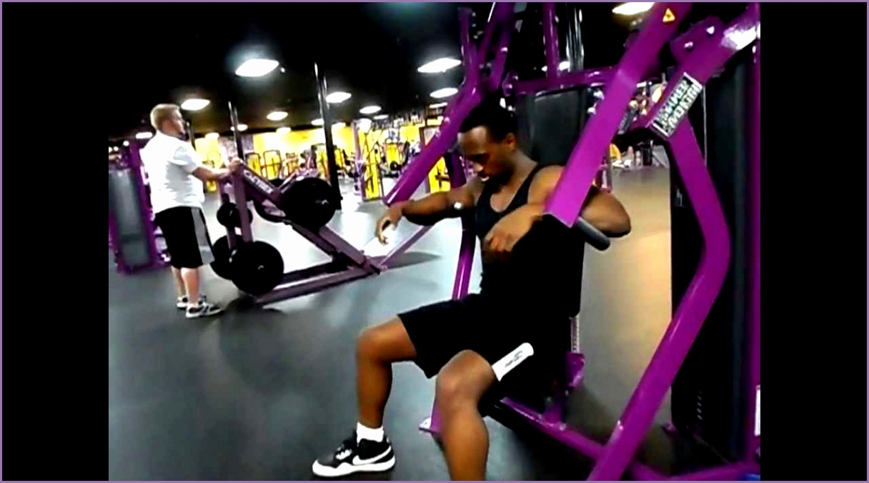 chest press machine planet fitness