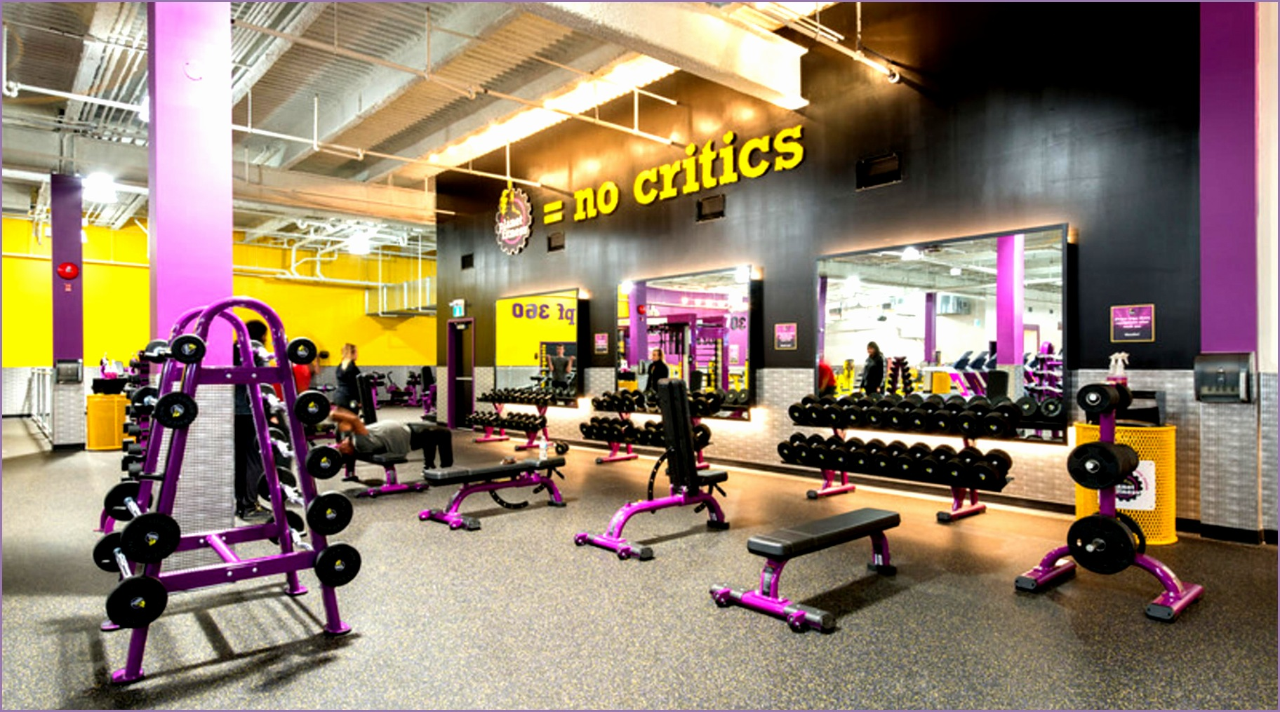 planet fitness circuit training equipment