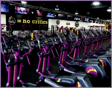 planet fitness machines