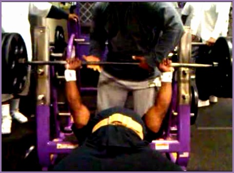 planet fitness squat rack bar weight