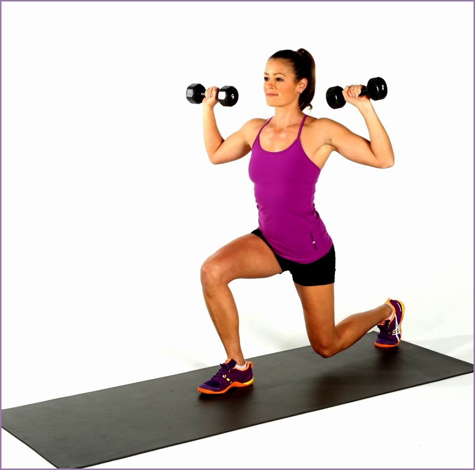Weight Training Women Dumbbell Circuit Workout