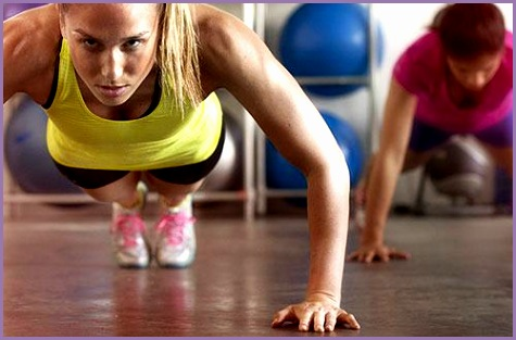 1 intense women workout routine
