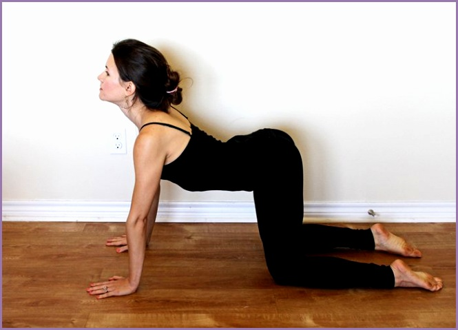 5 poses morning yoga routine