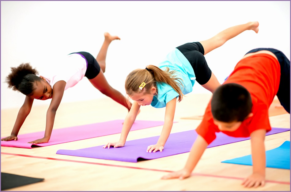 yoga in schools can help ease kids anxiety new study