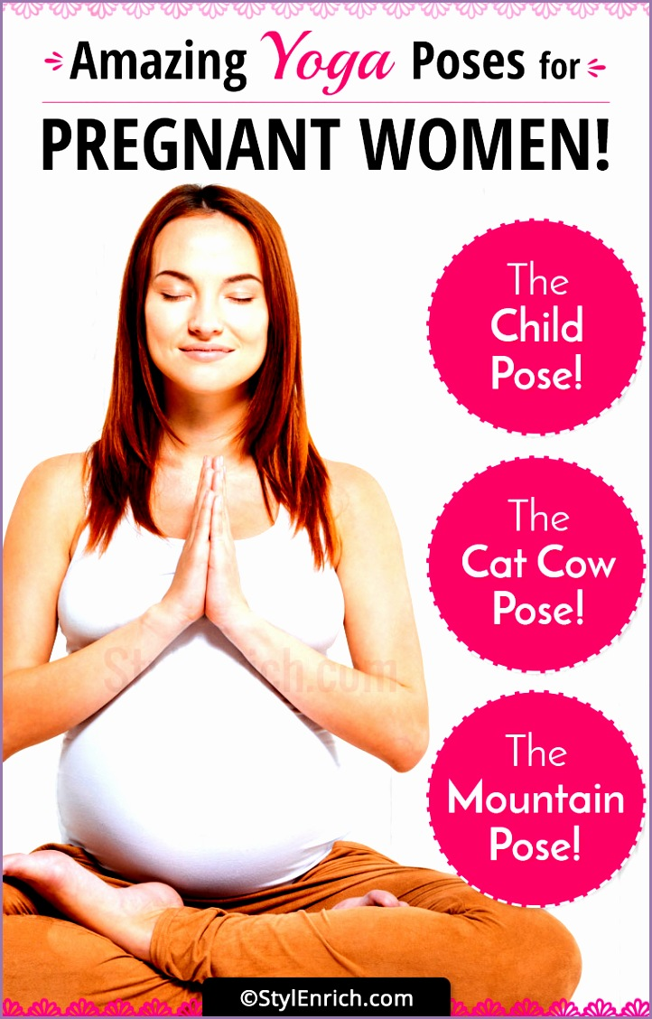 amazing yoga poses pregnant women