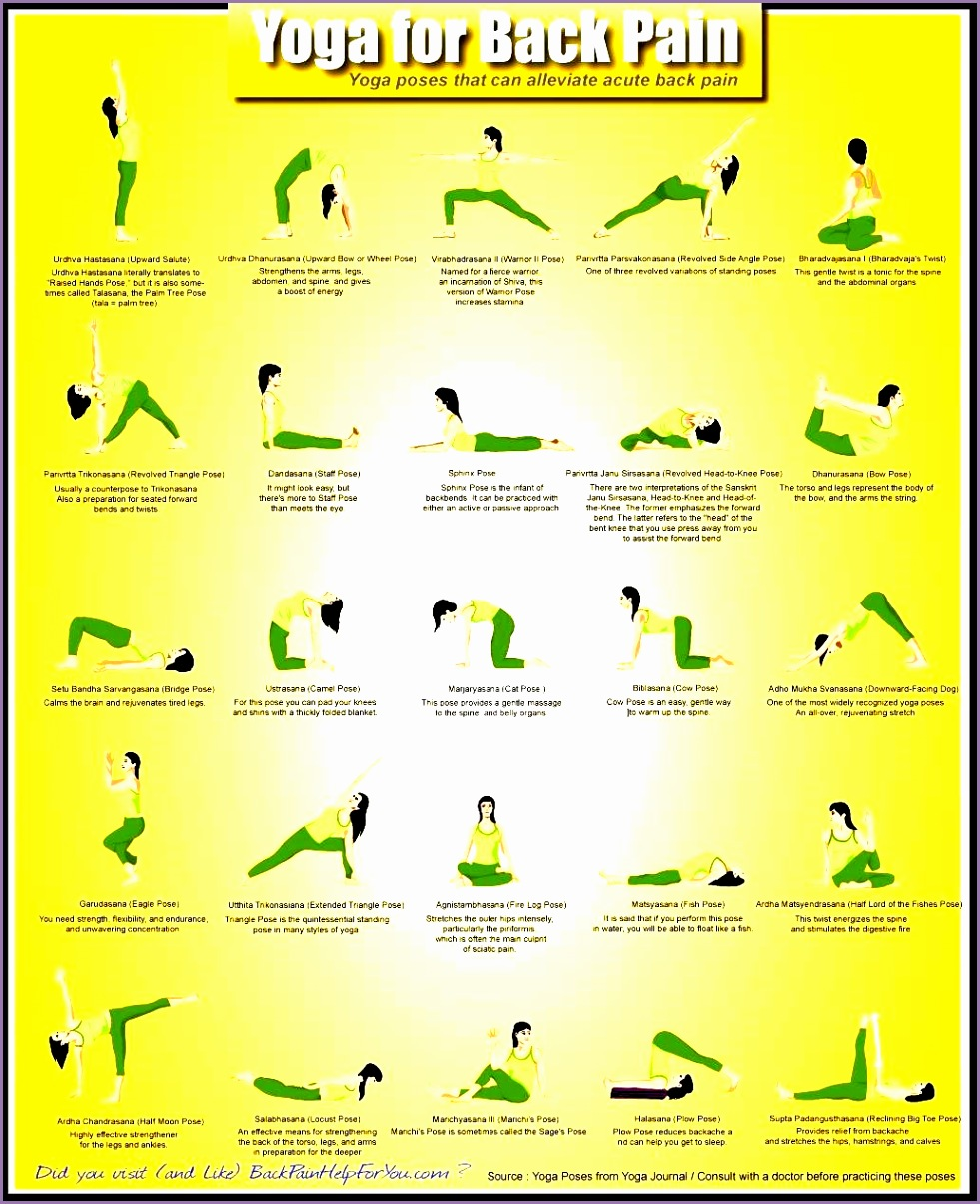 yoga asanas names and images