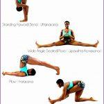 4  Yoga Pose Poster