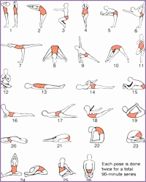 Yoga Exercise Posters