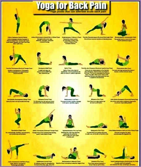 back pain yoga poses for backache