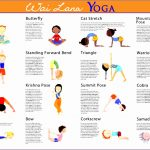 4  Yoga Poses for Kids Printable