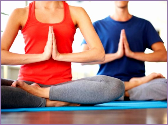 relieve stress with these simple yoga poses