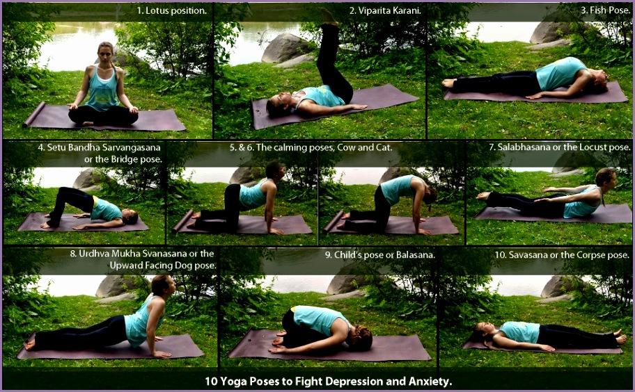 10 yoga poses to fight depression and anxiety