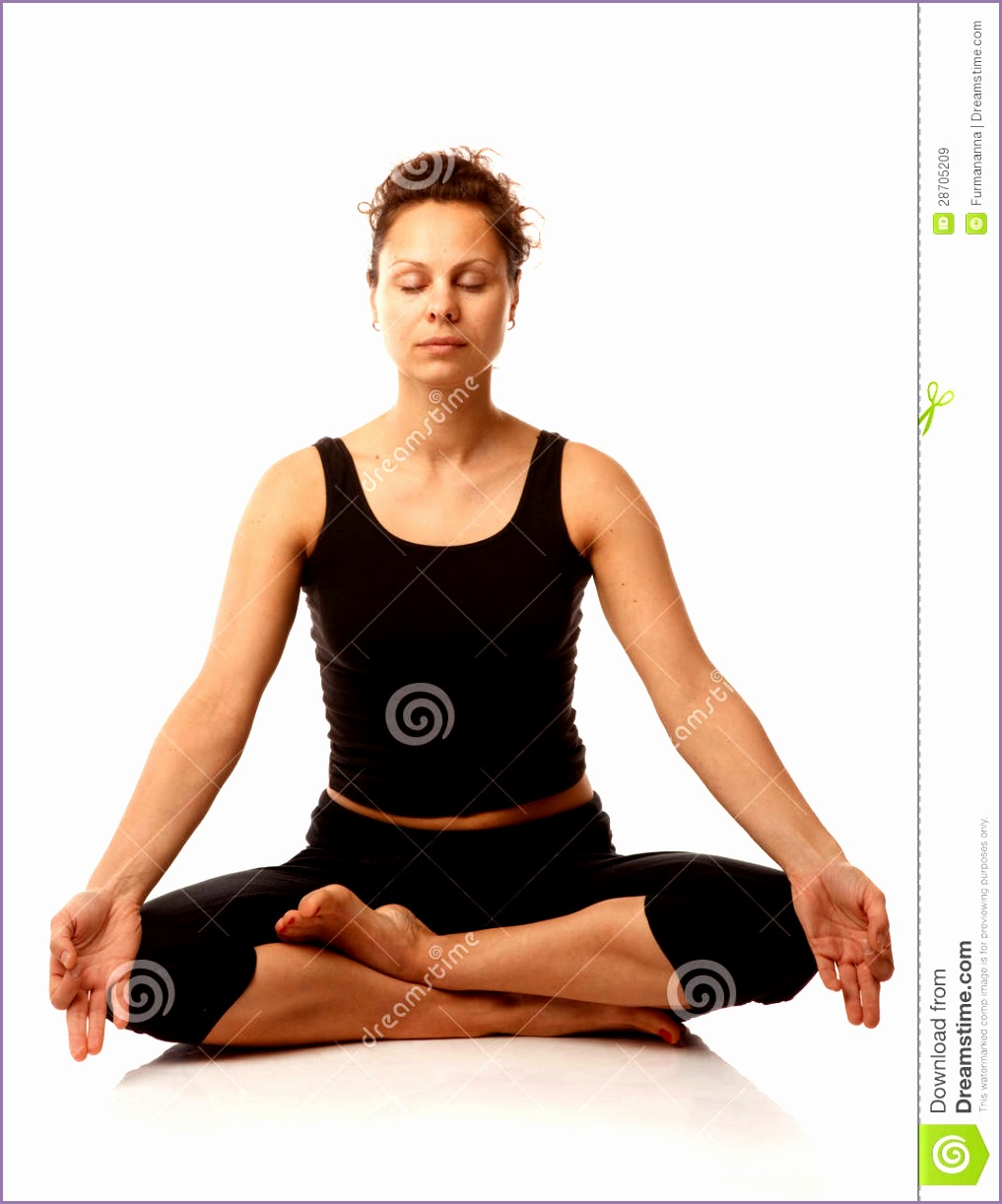 royalty free stock images sitting yoga pose image