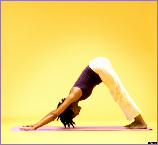 12 yoga poses undo damage desk job