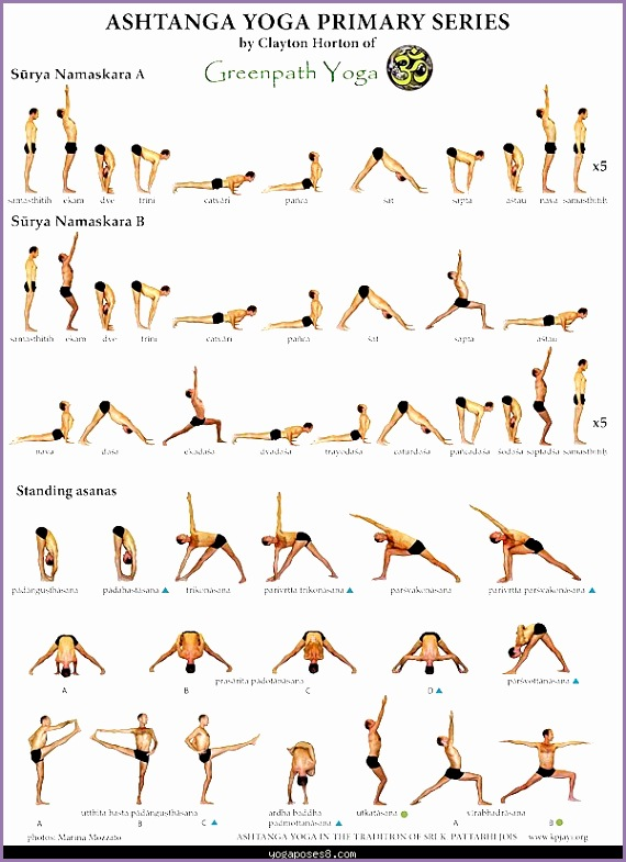bikram yoga poses chart pdf