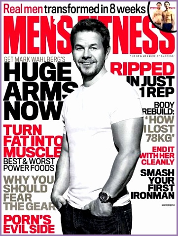 mens fitness australia march 2014