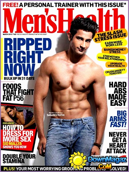 mens health india march 2014