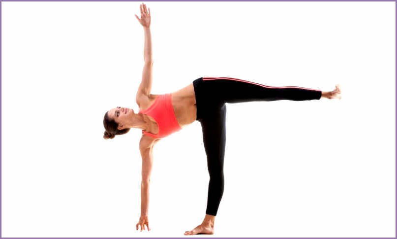 finding your radiance half moon pose ardha chandrasana