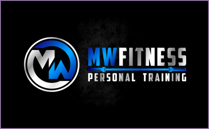 mw fitness personal trainer logo
