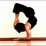 7 Scorpion Yoga Pose