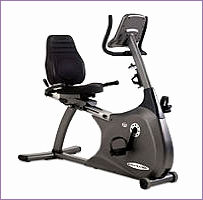 Vision Fitness HRT 2200 Recumbent Bike