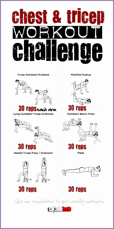 chest workout women