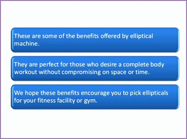 5 benefits of elliptical machines