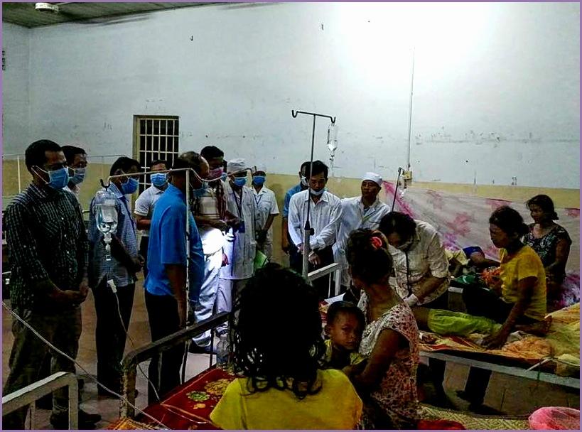 437 sick flu prey veng province