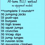 6 Hiit Workouts at Home without Equipment
