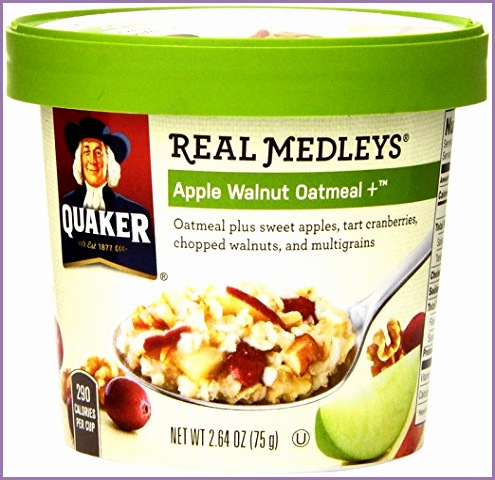 quaker real medleys oatmeal 1 50