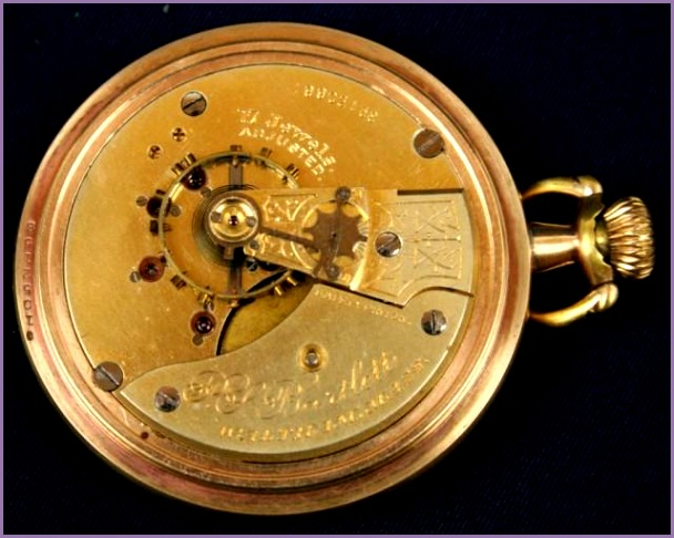 1883 WALTHAM 17 JEWEL POCKET WATCH i