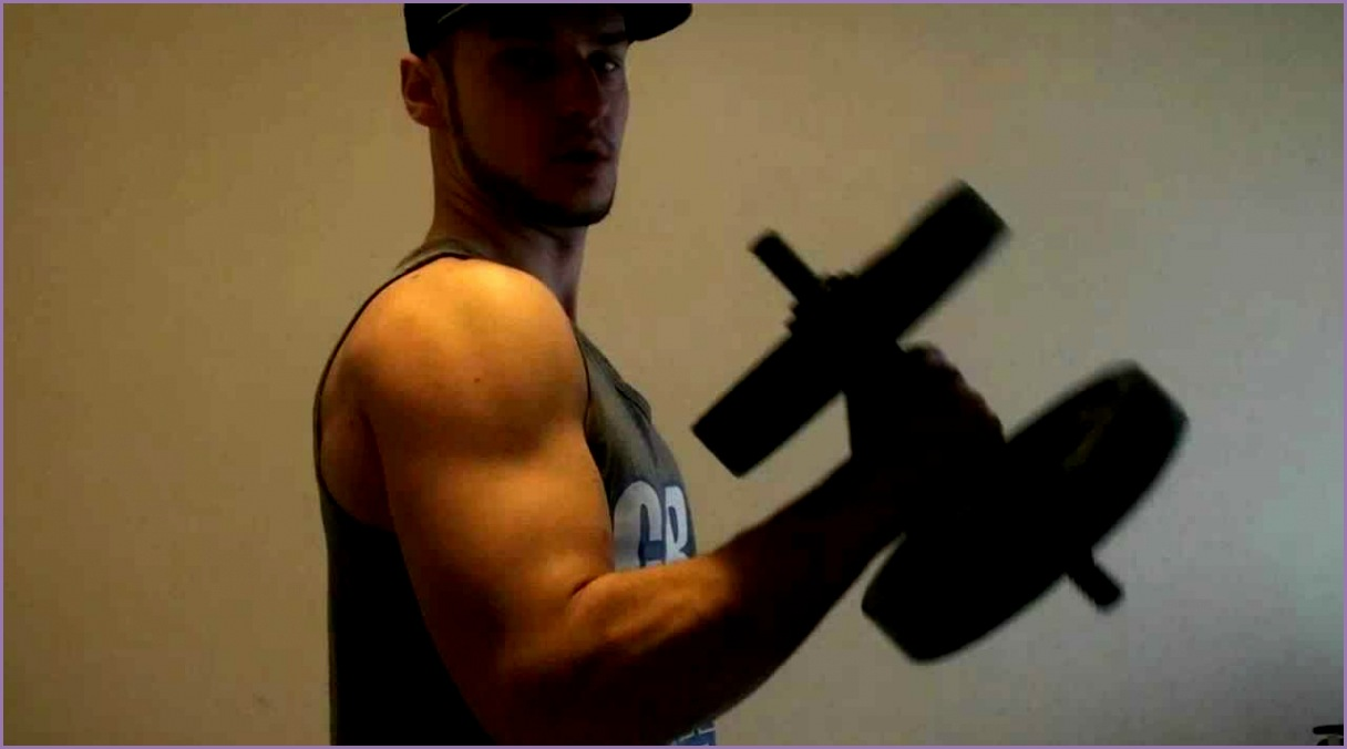top 5 exercises for big arms with 1 dumbbell
