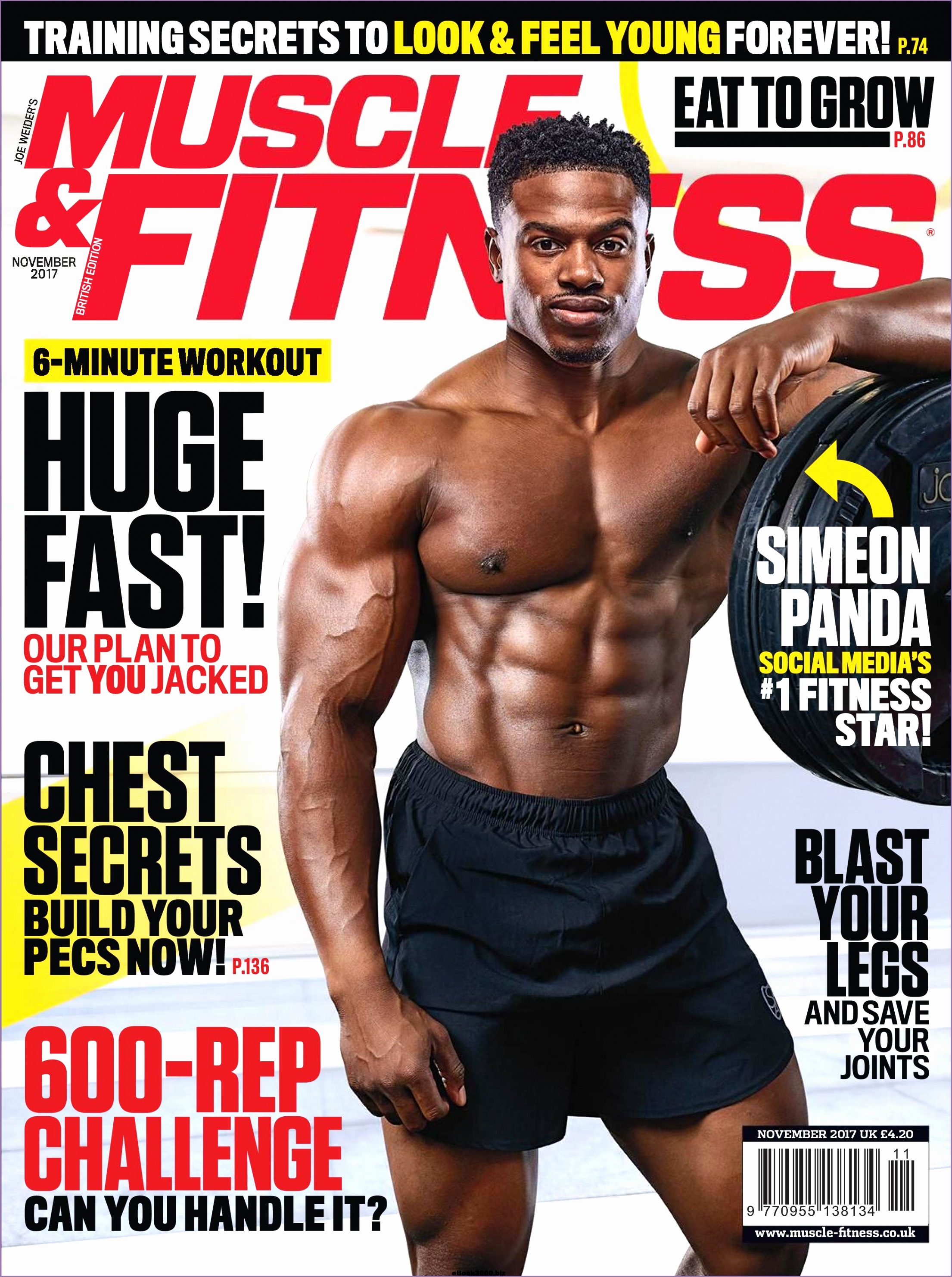 muscle fitness uk november 2017