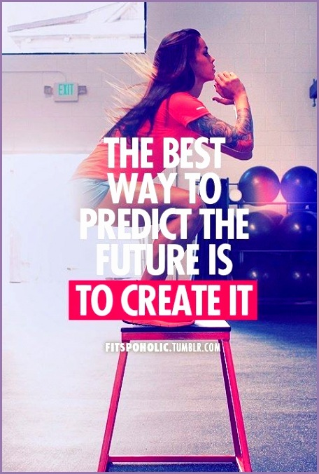 best way to predict the future is to create it